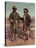 Two Elderly Cotton Pickers  1888