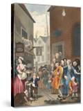 Times of the Day: Noon  Illustration from 'Hogarth Restored: the Whole Works of the Celebrated…