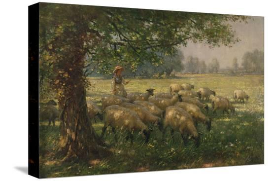 william-kay-blacklock-the-shepherdess