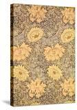 """Chrysanthemum"" Wallpaper Design  1876"