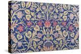 Violet and Columbine Furnishing Fabric  Woven Wool and Mohair  England  1883