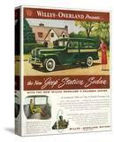 Willys - New Jeep Station Sedan