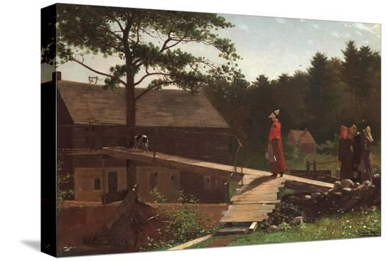 winslow-homer-old-mill-the-morning-bell-1871
