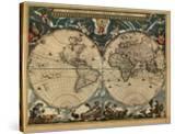 World Map  c1664