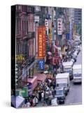 Chinatown  Manhattan  New York  New York State  United States of America  North America