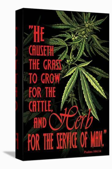 Psalms 104--Stretched Canvas Print