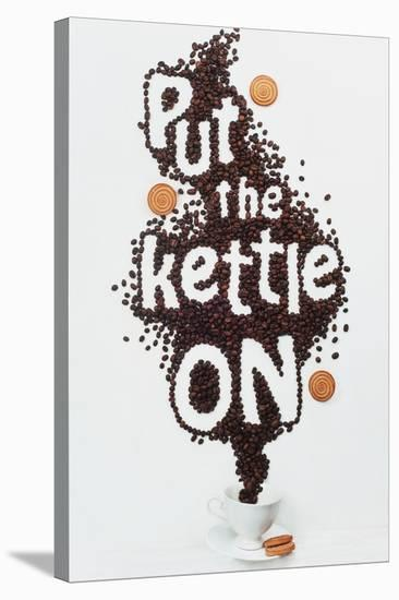 Put The Kettle On!-Dina Belenko-Stretched Canvas Print