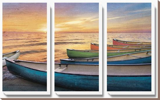Rainbow Armada-Celebrate Life Gallery-Canvas Art Set