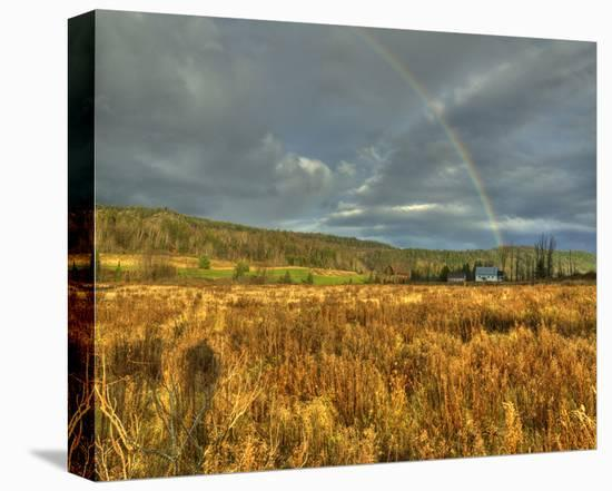 Rainbow Valley-Richard Desmarais-Stretched Canvas Print