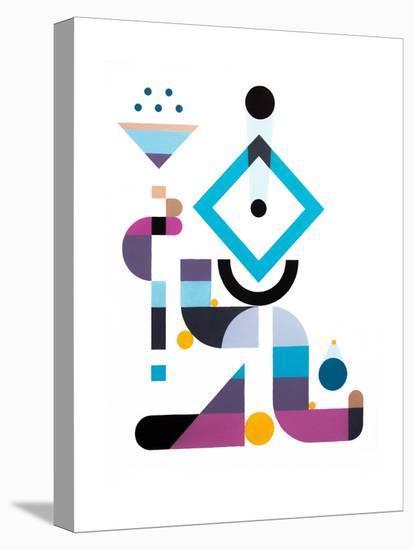 Rainmaker-Antony Squizzato-Stretched Canvas Print