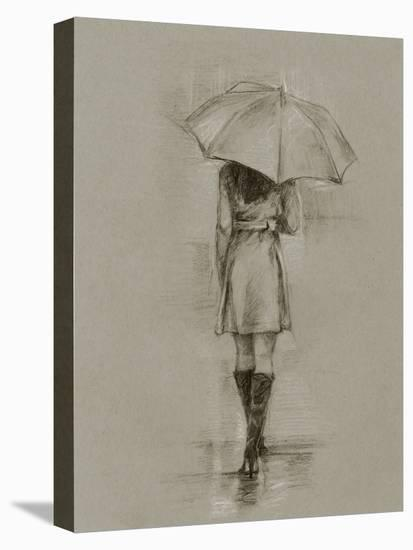 Rainy Day Rendezvous I-Ethan Harper-Stretched Canvas