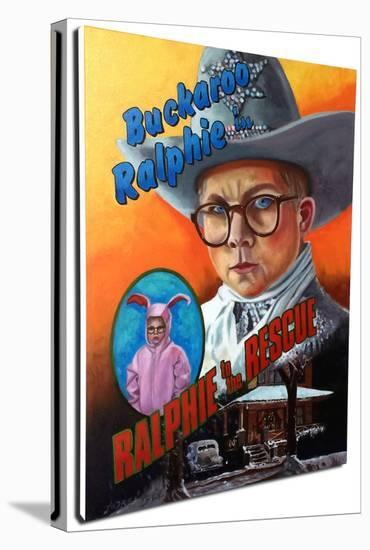 Ralphie To The Rescue--Gallery Wrapped Canvas
