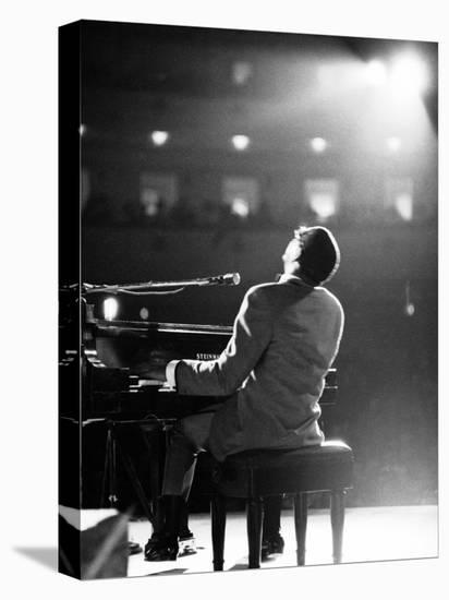 Ray Charles-Bill Ray-Stretched Canvas Print