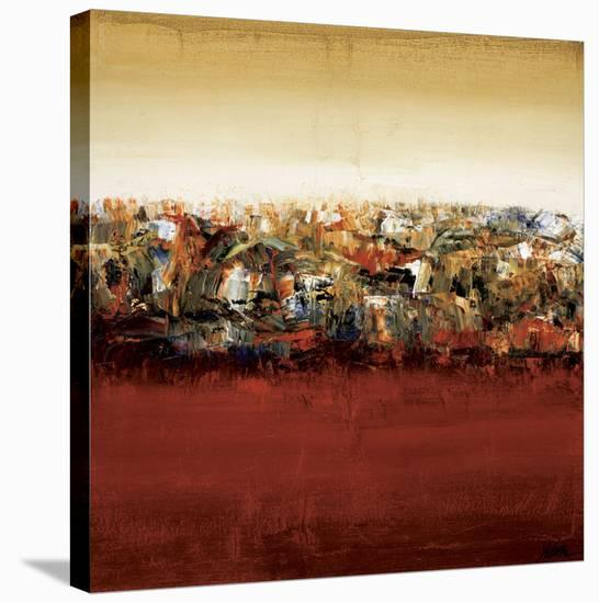 Red Lake-Yehan Wang-Stretched Canvas Print