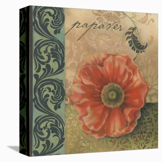 Red Poppy-Louise Montillio-Stretched Canvas Print