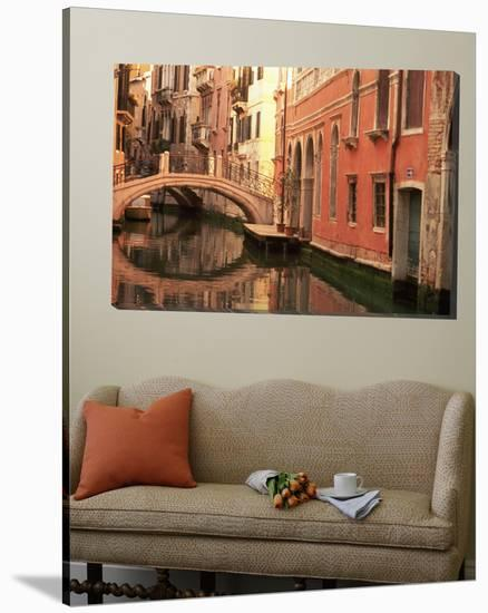 Reflection of Buildings in Water, Venice, Italy--Loft Art