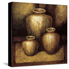 Remnants of the Ages-Zenon Burdy-Stretched Canvas