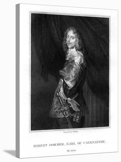 Robert Dormer, 1st Earl of Carnarvon, Royalist Soldier-T Wright-Premier Image Canvas