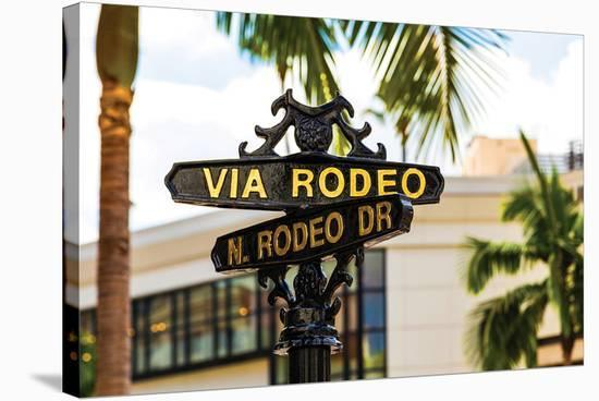 Rodeo Drive--Stretched Canvas Print
