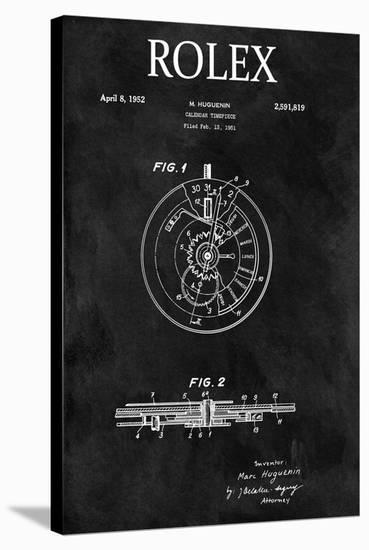 Rolex Calendar Time Piece, 195-Dan Sproul-Stretched Canvas Print