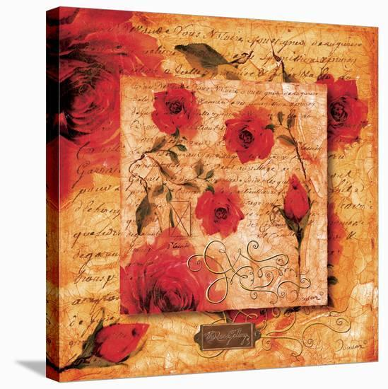 Roman Rose Gallery-Anastasia-Joadoor-Stretched Canvas Print