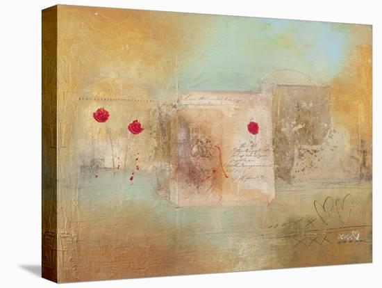 Roses for You-Charaka Simoncelli-Stretched Canvas Print