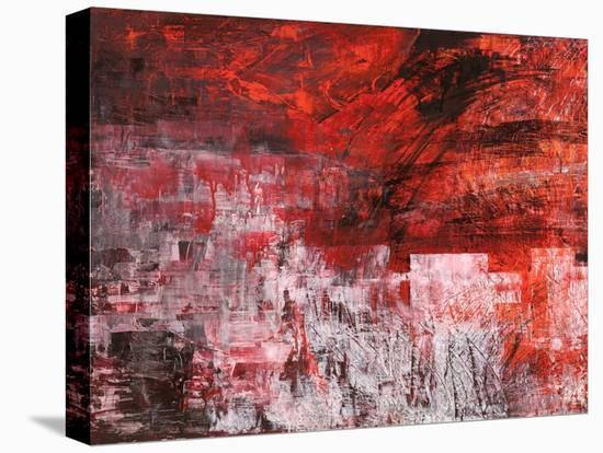 Rosso tramonto-Italo Corrado-Stretched Canvas Print
