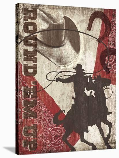 Round 'Em Up-Tandi Venter-Stretched Canvas Print