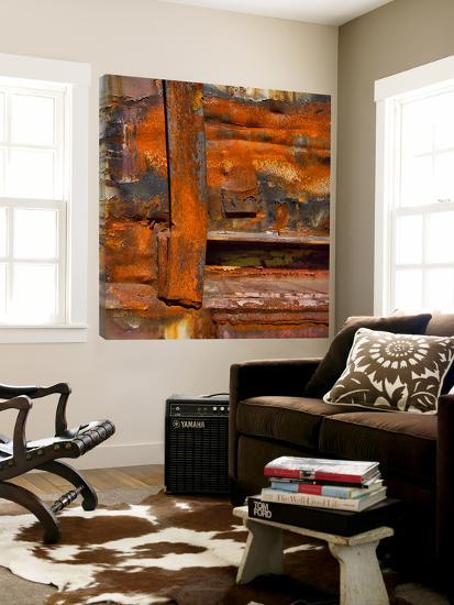 Rusty Panel III-Jean-François Dupuis-Loft Art