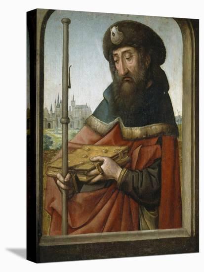 Saint James the Elder as Pilgrim-Juan de Flandes-Premier Image Canvas
