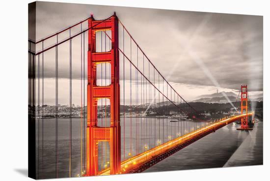 San FranciscoGoldenGateBridge--Stretched Canvas Print