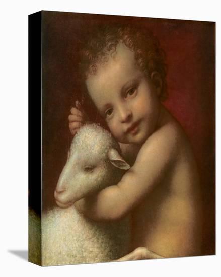 San Giovannino-Bernardino Luini-Stretched Canvas Print