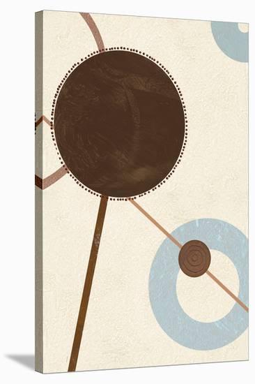 Sandy Improvisation No. 2-George Wassily-Stretched Canvas Print