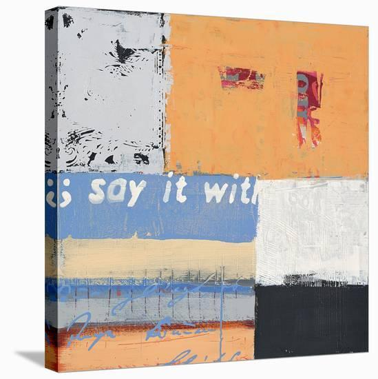 Say it with Flowers-Anna Flores-Stretched Canvas Print