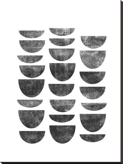 Scandanavian Geometry-Brett Wilson-Stretched Canvas