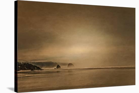 Schwartz - Gentle Coastal Sunrise-Don Schwartz-Stretched Canvas Print