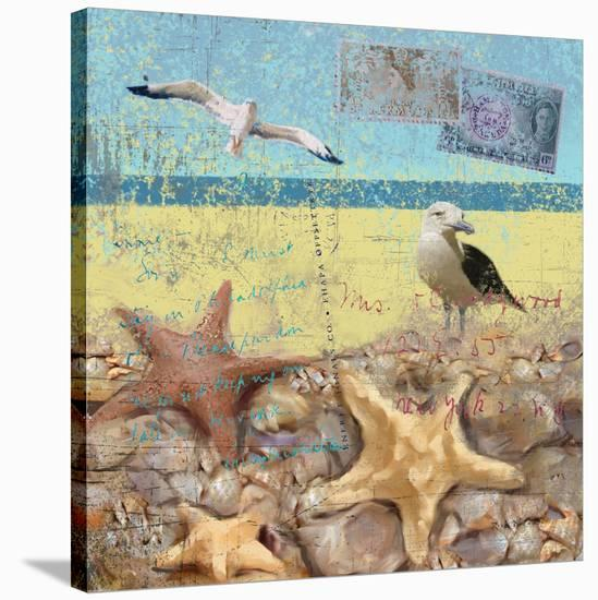 Sea Life 01-Rick Novak-Stretched Canvas Print