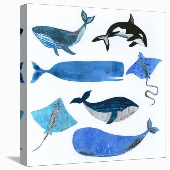 Sea Life--Stretched Canvas Print