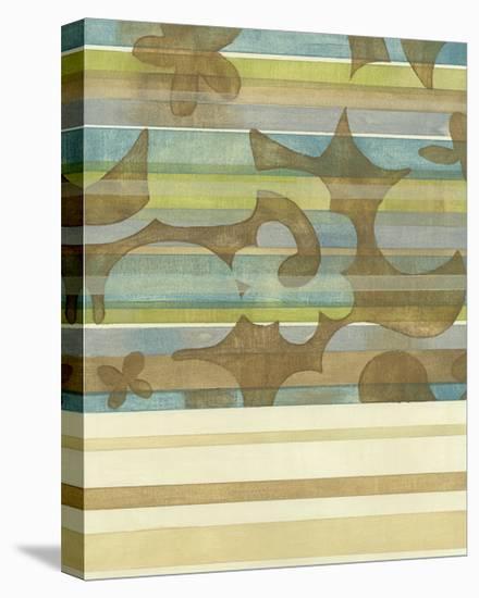 Seaside Garden I-Chariklia Zarris-Stretched Canvas Print