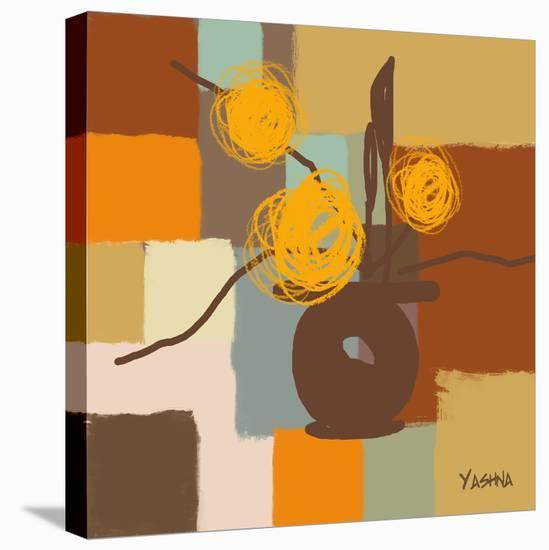Seasons I-Yashna-Stretched Canvas Print