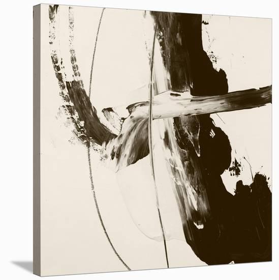 Sepia H-Franka Palek-Stretched Canvas Print