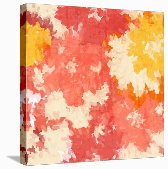 September Orange I--Stretched Canvas Print