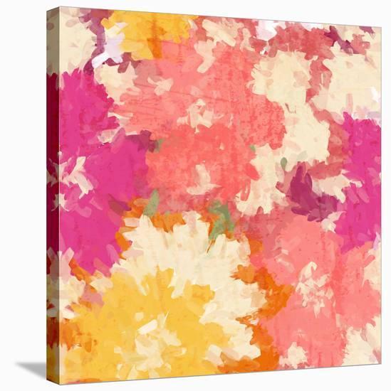 September Orange Iv--Stretched Canvas Print