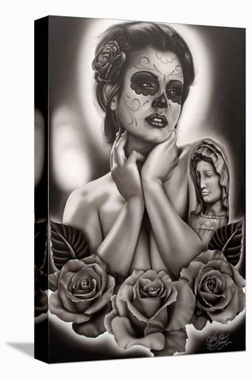 Serenity-Big Ceeze-Stretched Canvas Print