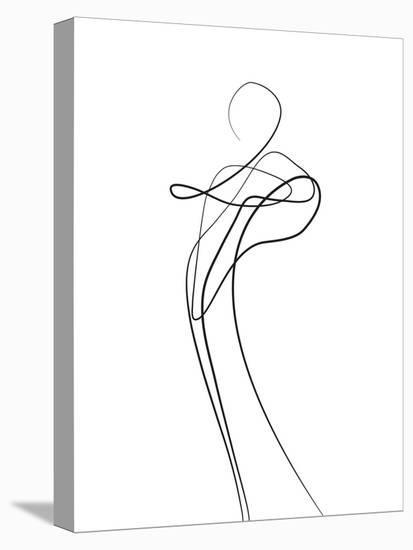 Shape of You 1-Design Fabrikken-Stretched Canvas Print