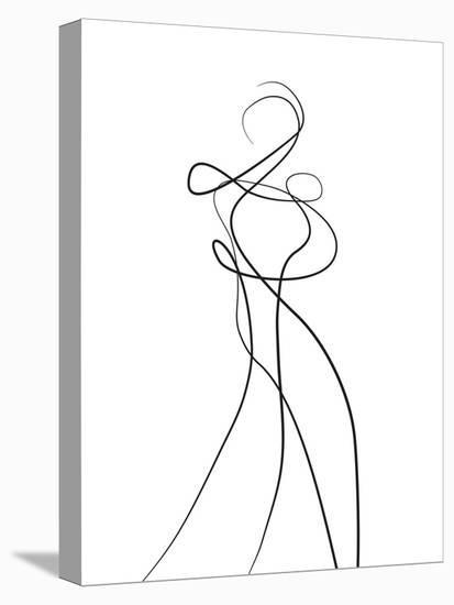 Shape of You 2-Design Fabrikken-Stretched Canvas Print