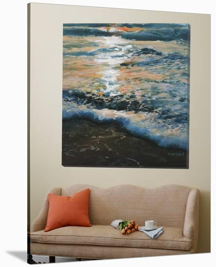 Shoreline Study 04315-Carole Malcolm-Loft Art