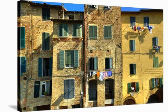 Siena Apartment Wall-Richard Desmarais-Stretched Canvas Print