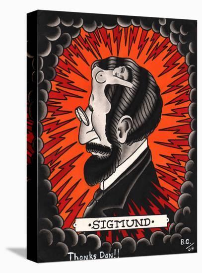 Sigmund- Brother Greg-Stretched Canvas Print