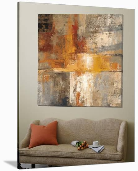 Silver and Amber Crop-Silvia Vassileva-Loft Art